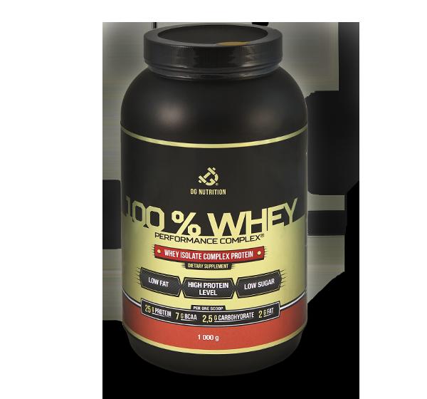 100% Whey Performance Complex 1000g