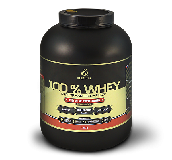 100% Whey Performance Complex 2250g