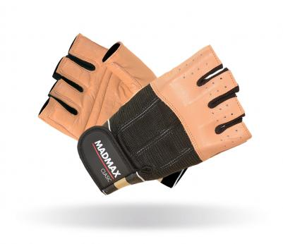 MADMAX Fitness rukavice CLASIC BROWN MFG248 brown