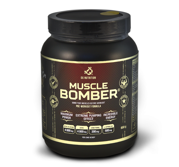 Muscle Bomber 600g